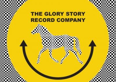 Glory story record company badge 16