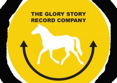 Glory story record company badge 3