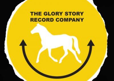Glory story record company badge 4