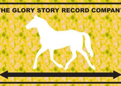 The Glory Story Record Company Logo The Horse